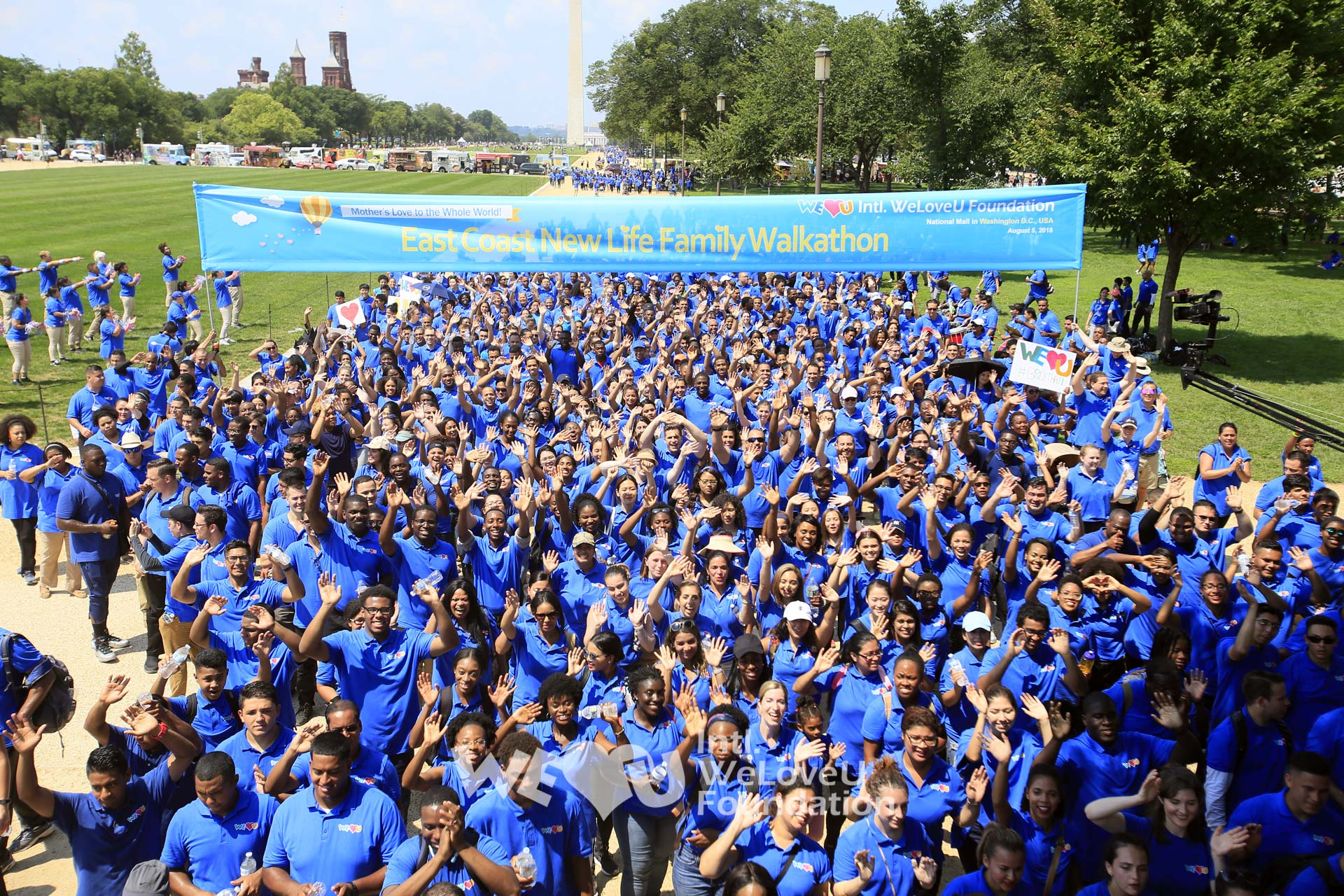 New Life Family Walkathon in the East Coast, U S  - The Intl