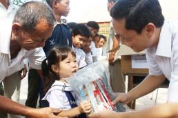 국제위러브유 장길자 회장은 2018년 11월, 캄보디아의 교육청소년체육부와 긴밀한 협력을 통해 교육 지원을 펼침.