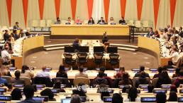국제위러브유운동본부 대학 동아리 회장이 참가하고 발표한 국제 관용의 날 맞이 행사에서는 단편영상을 상영하고 관용과 세계인권선언에 대한 패널 토론과 학생 우수작 발표 프로그램을 진행