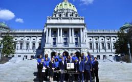 3월 19일, 재단법인 국제위러브유가 미국 펜실베이니아 주의회로부터 표창을 받음.