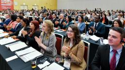 국제WeLoveU 2019 세이브더월드 국제포럼 참여자들의 모습