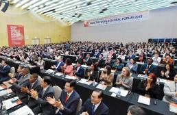 2019년 5월 23일, 장길자 회장님이 설립한 국제위러브유운동본부는 인천 송도 컨센시아에서 지속 가능한 생명구호를 위한 글로벌 네트워크 구축이라는 주제로 국제포럼을 개최함.