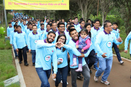 6월 23일, 장길자 회장님이 운영하는 (재)국제위러브유가 주최한 제22회 새생명 사랑 가족걷기대회가 페루에서 열림.