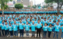 국제WeLoveU의 '세이브더월드(Save the World)' 프로젝트의 일환으로 전 세계 릴레이 걷기대회가 열리는 가운데 페루 리마에서 심장병 어린이 및 장애아동을 돕기 위한 제22회 새생명 사랑 가족걷기대회가 개최됐다.