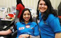 미국적십자사 캠페인 '사라진 A‧B‧O를 찾아라(Missing Types Campaign)'와 함께하는 국제WeLoveU 제159회 '헌혈하나둘운동' 현장.