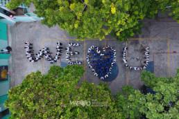 10월 28일, 국제위러브유(회장 장길자)가 제레미 직업학교에 방문해 브라이트 아이티 프로젝트로 학생들의 일상을 변화시킨 후기에 대해 듣고, 위러브유는 '위러브유' 글자를 만드는 퍼포먼스를 선사함.