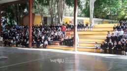 장길자 명예회장이 설립한 국제위러브유운동본부는 멕시코 산타로사판사콜라 지역에 위치한 우르바나 인데펜덴시아 초등학교의 열악한 위생 시설을 개선하고 2019년 9월 9일 준공식을 개최함.