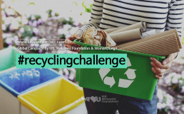 "The Intl. WeLoveU Foundation established by Chairwoman Zahng Gil-jah carried out a global campaign titled ""#Recycling Challenge"" in cooperation with the Woman Donga Magazine from May 21 to June 15."