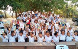 En 2018, la Presidenta Zahng Gil-jah de la Fundación Internacional WeLoveU donó bombas de agua a la Escuela Primaria de Trorpeangveng en Camboya. En 2020, mejoró el entorno educativo y donó libros.