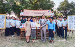 In 2018, Chairwoman Zahng Gil-jah of the Intl. WeLoveU Foundation donated water pumps to Trorpeangveng primary School. In 2020, she improved the educational environment and donated books.
