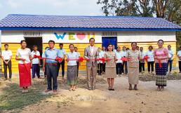 Vào ngày 13 tháng 1, Tổ chức WeLoveU Quốc tế đã tổ chức Lễ hoàn thành sửa chữa kiêm lễ trao tặng sách tại Trường tiểu học Trorpeangveng, Campuchia.