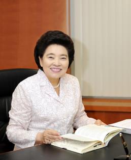 Fundación Internacional WeLoveU Presidenta Honoraria Zahng Gil-jah