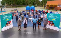 2020년 9월 24일, 장길자 명예회장이 이끄는 국제위러브유(UN DGC 협력 NGO) 미국 동부지부가 코로나19에 대응해 어빙턴시 매디슨 애비뉴 초등학교 아이들에게 노트북(크롬북) 75대를 전달했다.