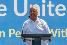 도널드 페인 주니어 하원의원, 의회 연설서위러브유모잠비크 재난구호활동 치하
