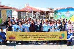 2019년 12월 5일, 장길자 명예회장의 (재)국제위러브유가 2017년 지진 피해를 입은 멕시코 프로페소라 아나 마리아 유치원에서 시설 보수 준공식 겸 교육 물품 기증식을 개최했다.